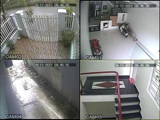 lắp đặt camera tại Tphcm, lắp đặt 4 camera quan sát