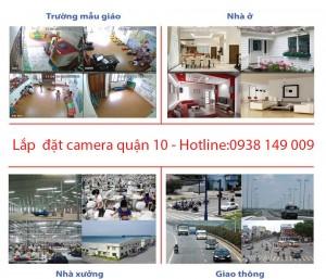 Lắp đặt camera quận 10 tại Tấn Phát với camera hàng chính hãng còn nguyên tem.