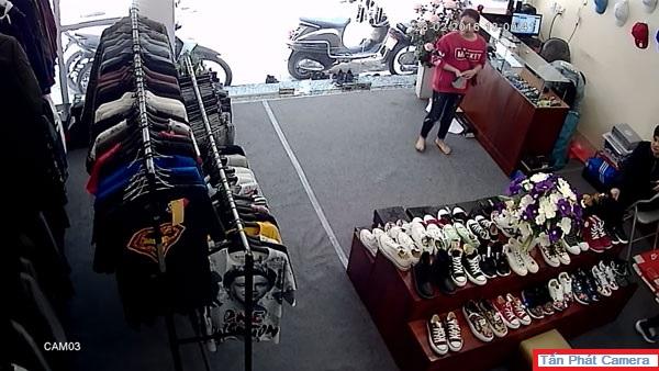 Lắp đặt camera cho shop thời trang