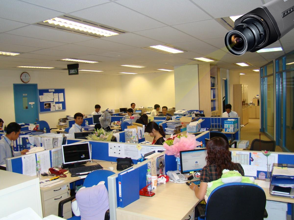 Giải pháp camera giám sát cho khối văn phòng nhà nước