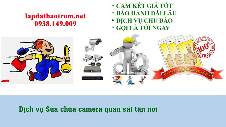 Sửa chữa camera tại tphcm